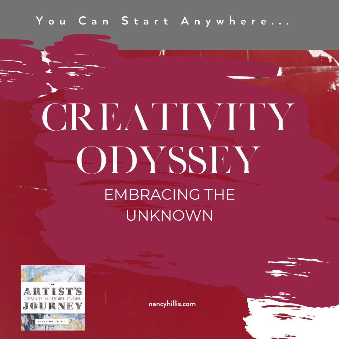Creativity Odyssey-Embracing The Unknown
